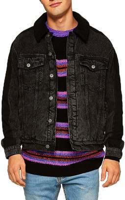Topman '90s Stripe Classic Fit Sweater