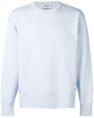 Acne Studios oversized crew neck sweatshirt