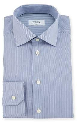 Eton Slim-Fit Bengal Stripe Dress Shirt