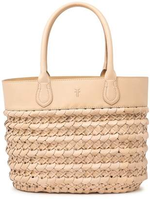 Frye Woven Leather Tote