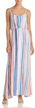 BB Dakota Mally Striped Maxi Dress
