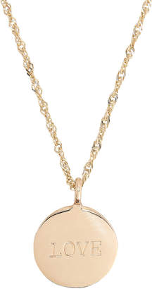 Ariel Gordon Demi Medallion Signet Necklace