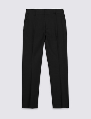 Marks and Spencer Senior Boys' Skinny Leg Plus Fit Trousers