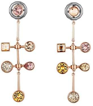 Swarovski by Peter Pilotto Arbol Linear Earrings