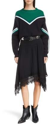 Etoile Isabel Marant Kimo Stripe Detail Sweater
