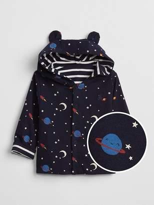 Gap Reversible Hoodie Sweatshirt