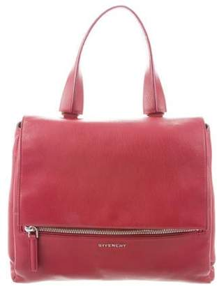Givenchy Textured Leather Messenger Bag Red Textured Leather Messenger Bag