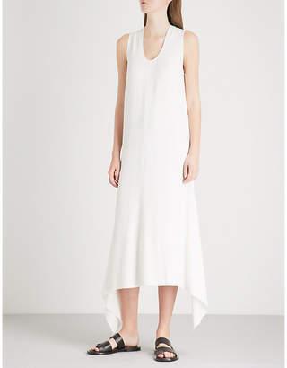 Joseph Reid asymmetric crepe dress