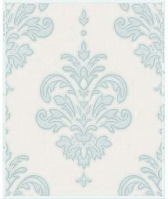 Lark Manor Penniman 33' x 20 Damask Wallpaper Roll