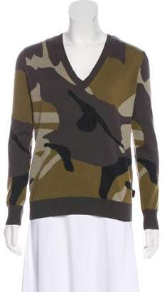 Burberry Cashmere Camouflage Sweater