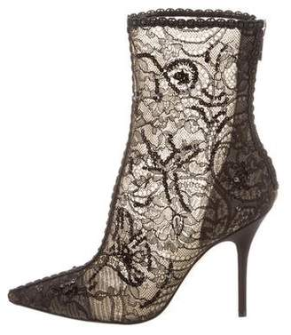 Christian Dior Pampille Lace Boots