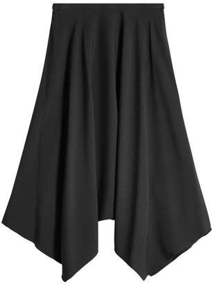 Nina Ricci Midi Skirt with Handkerchief Hem