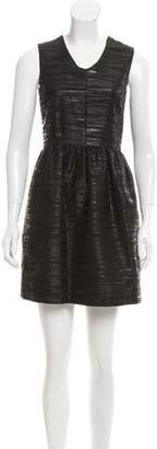 Steven Alan Textured Mini Dress