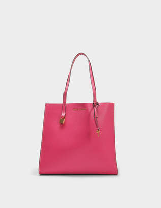 Marc Jacobs The Grind Tote Bag in Hydrangea Cow Leather
