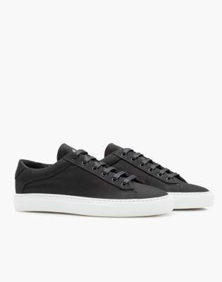 Madewell Unisex Koio Capri Nero Low-Top Sneakers in Black Canvas