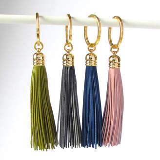 EVY Designs Leather Tassel Keyring