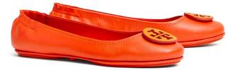 Tory Burch MINNIE TRAVEL BALLET FLAT, EMBOSSED LOGO