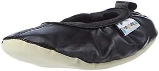 Playshoes Girls Ballerina Ballet Flats and Gymnastic Shoes Uni Flatform 208753 10.5 UK Child, 28 EU, Regular