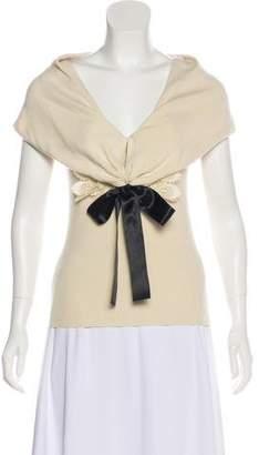 Valentino Sleeveless Knit Top