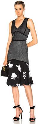 Prabal Gurung Sleeveless Flare Skirt Dress