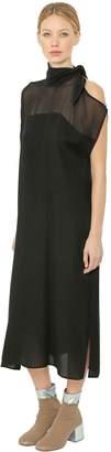 MM6 MAISON MARGIELA Asymmetrical Georgette Dress