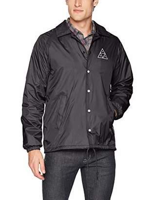 HUF Men's Essentials Tt Coaches Jacket