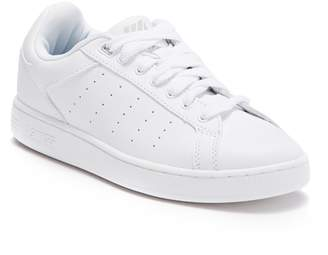 K-Swiss K Swiss Clean Court Leather Sneaker (Big Kid)