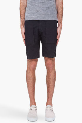 THEORY Black Nealson Shorts