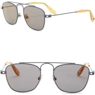 Givenchy 51mm Square Aviator Sunglasses