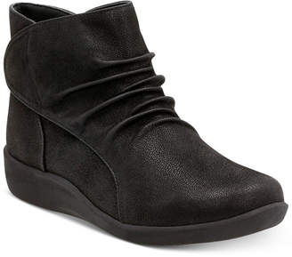 Clarks Women's Cloud Steppers Sillian Sway Booties Women's Shoes $120 thestylecure.com