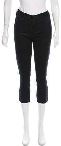 Kate Spade New York Mid-Rise Skinny-Leg Pants