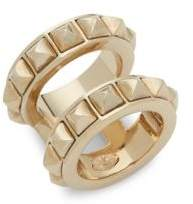 Valentino Distressed Spike Ring