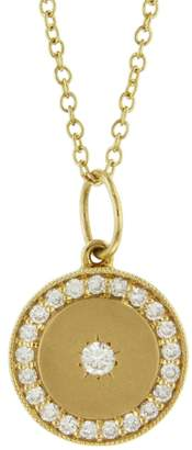 Andrea Fohrman Full/New Phases of the Moon Necklace - Yellow Gold