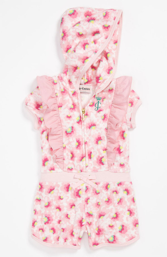 Juicy Couture Terry Cloth Coveralls (Baby)