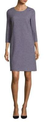 Peserico Long-Sleeve Shift Dress