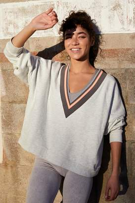 Fp Movement Bowled Over Your V-Neck Sweatshirt