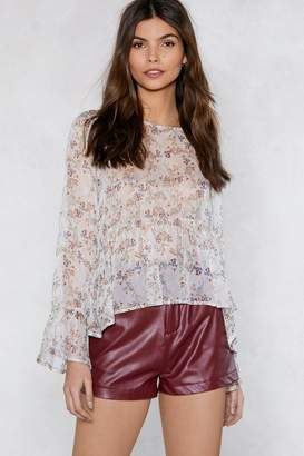 Nasty Gal Turn It Up Faux Leather Shorts