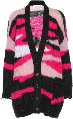 Valentino Mohair and wool-blend cardigan