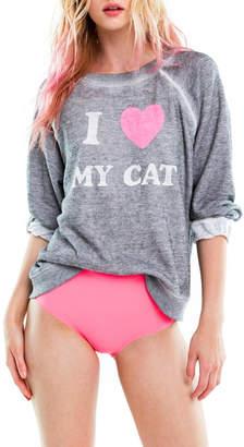 Wildfox Couture Cat Mom Sweatshirt