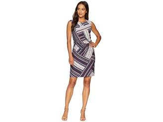 Nic+Zoe Petite Elegant Edit Twist Dress