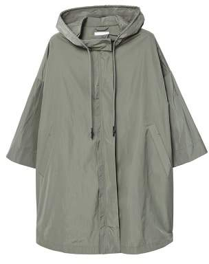 MANGO Hooded water-repellent parka