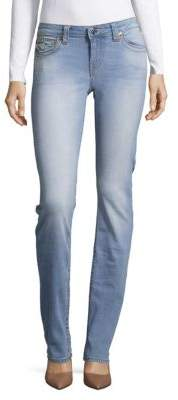 Faded Slim Straight Jeans $179 thestylecure.com