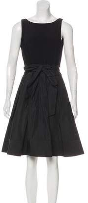 Lauren Ralph Lauren Sleeveless Knee-Length Dress