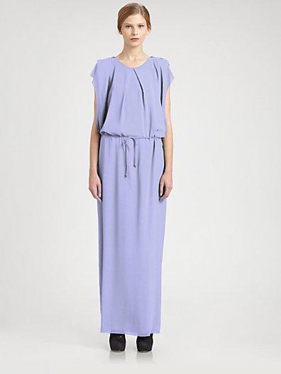 Acne Studios V-Back Maxi Dress