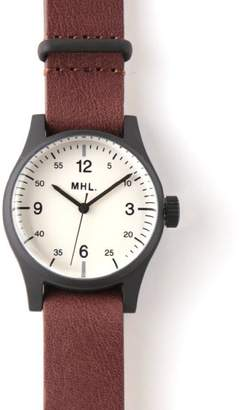 Mhl. Military Leather Watch
