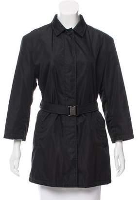 Prada Belted Short Coat