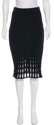 Derek Lam Textured Pencil Skirt