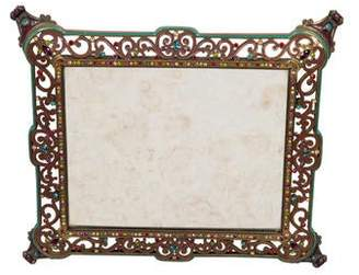 Jay Strongwater Embellished Mirror