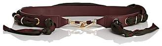 Chloé Women's Leather & Silk Shoulder Strap