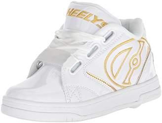 Heelys Girls' Propel 2.0 Trainers (White/Gold/Satin), 33 EU